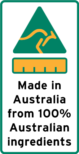 Country of Origin Label Printing Made in Australia 100%
