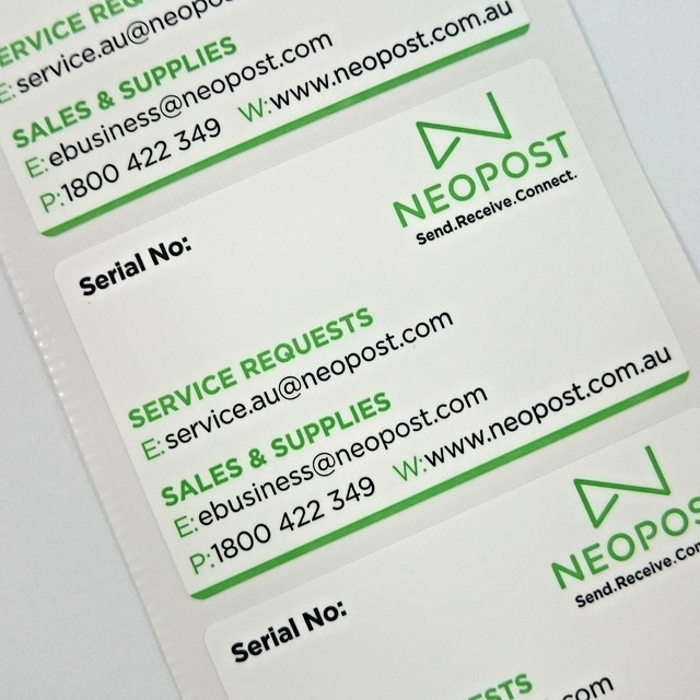 work labels