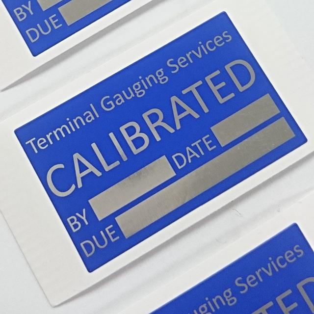 Aluminium Labels